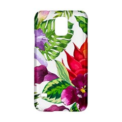 Vector Pattern Tropical Samsung Galaxy S5 Hardshell Case