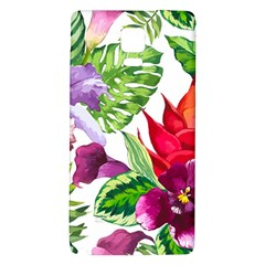 Vector Pattern Tropical Galaxy Note 4 Back Case