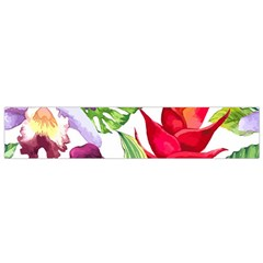 Vector Pattern Tropical Flano Scarf (small)