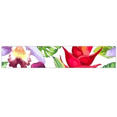 Vector Pattern Tropical Flano Scarf (large)