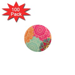 Art Abstract Pattern 1  Mini Magnets (100 Pack)