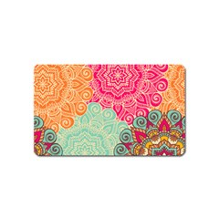 Art Abstract Pattern Magnet (name Card)