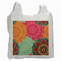 Art Abstract Pattern Recycle Bag (two Side)