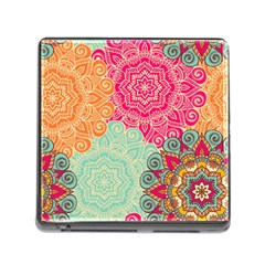 Art Abstract Pattern Memory Card Reader (square)