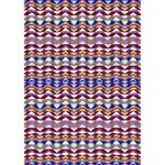 Ethnic Colorful Pattern Get Well 3D Greeting Card (7x5) Inside