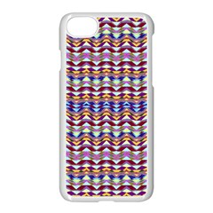 Ethnic Colorful Pattern Apple Iphone 7 Seamless Case (white)