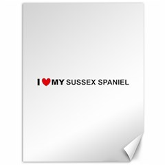 I Love My Sussex Spaniel Canvas 36  x 48