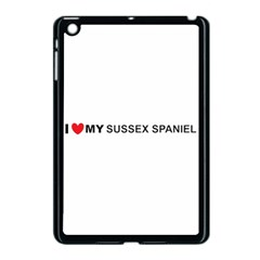 I Love My Sussex Spaniel Apple iPad Mini Case (Black)