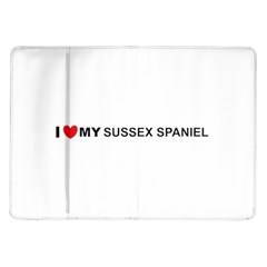 I Love My Sussex Spaniel Samsung Galaxy Tab 10.1  P7500 Flip Case