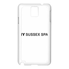 I Love My Sussex Spaniel Samsung Galaxy Note 3 N9005 Case (White)