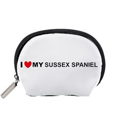I Love My Sussex Spaniel Accessory Pouches (Small)