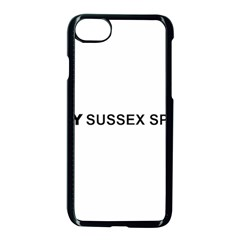 I Love My Sussex Spaniel Apple iPhone 7 Seamless Case (Black)