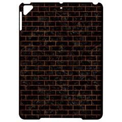 Brick1 Black Marble & Brown Marble (r) Apple Ipad Pro 9 7   Hardshell Case