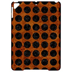 Circles1 Black Marble & Brown Marble (r) Apple Ipad Pro 9 7   Hardshell Case