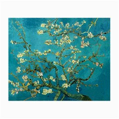 Vincent Van Gogh Blossoming Almond Tree Glasses Cloth (Small, Two Sided)