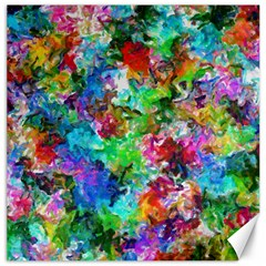 Colorful Strokes                                                                                                                			canvas 20  X 20