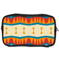 Mirrored Shapes In Retro Colors                                                                                                                 			toiletries Bag (one Side)