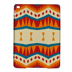 Mirrored Shapes In Retro Colors                                                                                                                apple Ipad Air 2 Hardshell Case