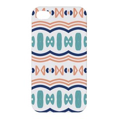 Shapes And Waves                                                                                                                 			apple Iphone 4/4s Premium Hardshell Case