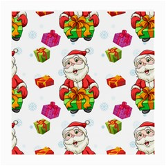 Xmas Patterns  Medium Glasses Cloth (2 Side)