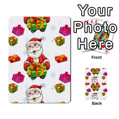 Xmas Patterns  Multi Purpose Cards (rectangle)