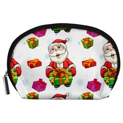 Xmas Patterns  Accessory Pouches (large)