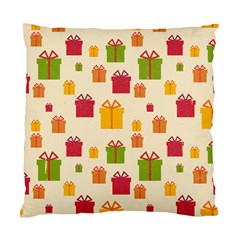 Christmas Gift Box Vector Seamless Pattern Vector Standard Cushion Case (one Side)