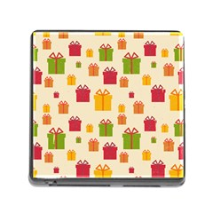 Christmas Gift Box Vector Seamless Pattern Vector Memory Card Reader (square)