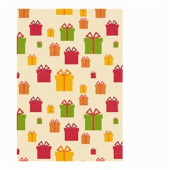 Christmas Gift Box Vector Seamless Pattern Vector Small Garden Flag (two Sides)