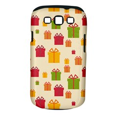 Christmas Gift Box Vector Seamless Pattern Vector Samsung Galaxy S Iii Classic Hardshell Case (pc+silicone)