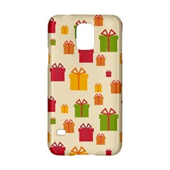 Christmas Gift Box Vector Seamless Pattern Vector Samsung Galaxy S5 Hardshell Case