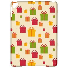 Christmas Gift Box Vector Seamless Pattern Vector Apple Ipad Pro 9 7   Hardshell Case
