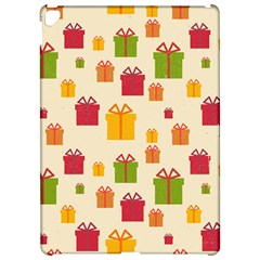Christmas Gift Box Vector Seamless Pattern Vector Apple iPad Pro 12.9   Hardshell Case