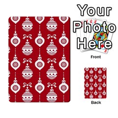 Abstract Christmas Seamless Background Vector Graphic Multi-purpose Cards (Rectangle)