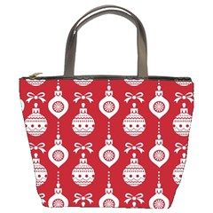 Abstract Christmas Seamless Background Vector Graphic Bucket Bags