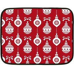 Abstract Christmas Seamless Background Vector Graphic Double Sided Fleece Blanket (mini)