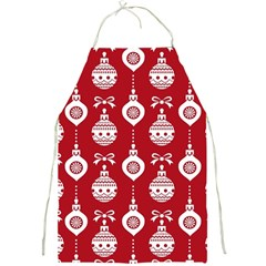 Abstract Christmas Seamless Background Vector Graphic Full Print Aprons
