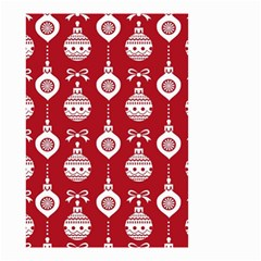 Abstract Christmas Seamless Background Vector Graphic Small Garden Flag (two Sides)