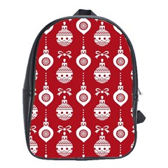 Abstract Christmas Seamless Background Vector Graphic School Bags (xl)
