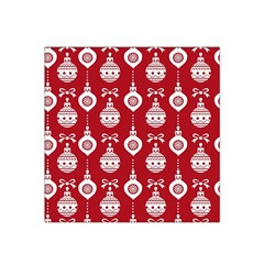 Abstract Christmas Seamless Background Vector Graphic Satin Bandana Scarf