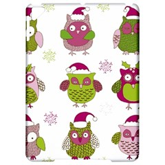 Cartoon Christmas Owl Cute Vector Apple iPad Pro 9.7   Hardshell Case
