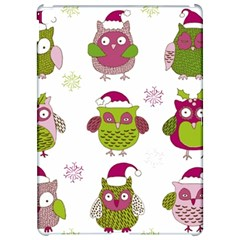 Cartoon Christmas Owl Cute Vector Apple iPad Pro 12.9   Hardshell Case