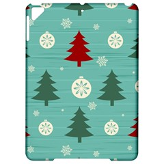 Christmas Tree With Snow Seamless Pattern Vector Apple iPad Pro 9.7   Hardshell Case