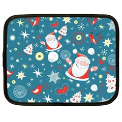 Christmas Stockings Vector Pattern Netbook Case (xl)