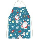 Christmas Stockings Vector Pattern Full Print Aprons Front