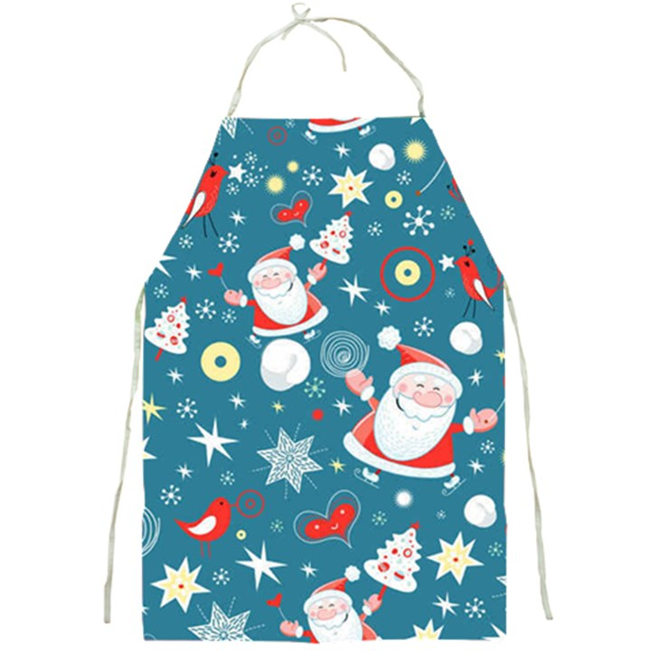 Christmas Stockings Vector Pattern Full Print Aprons