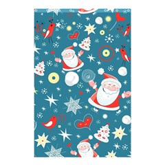 Christmas Stockings Vector Pattern Shower Curtain 48  X 72  (small)