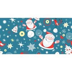 Christmas Stockings Vector Pattern YOU ARE INVITED 3D Greeting Card (8x4)