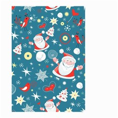 Christmas Stockings Vector Pattern Small Garden Flag (two Sides)