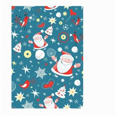 Christmas Stockings Vector Pattern Large Garden Flag (two Sides)